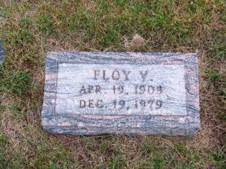 KELLER, FLOY V. - Brown County, Nebraska | FLOY V. KELLER - Nebraska Gravestone Photos