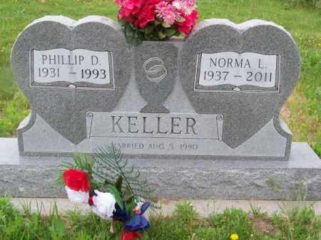 KELLER, NORMA L. - Brown County, Nebraska   NORMA L. KELLER - Nebraska Gravestone Photos