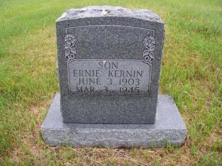 KERNIN, ERNIE - Brown County, Nebraska   ERNIE KERNIN - Nebraska Gravestone Photos