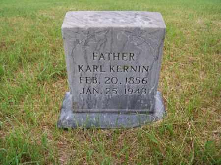 KERNIN, KARL - Brown County, Nebraska | KARL KERNIN - Nebraska Gravestone Photos
