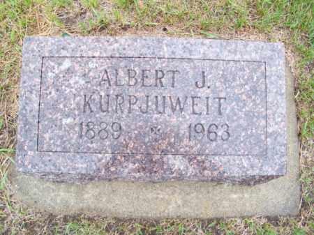 KURPJUWEIT, ALBERT J. - Brown County, Nebraska | ALBERT J. KURPJUWEIT - Nebraska Gravestone Photos