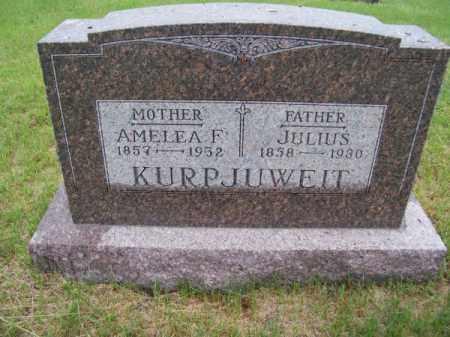 KURPJUWEIT, AMELEA F. - Brown County, Nebraska | AMELEA F. KURPJUWEIT - Nebraska Gravestone Photos