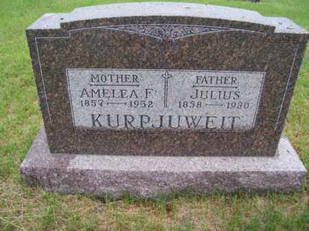 KURPJUWEIT, AMELEA F. - Brown County, Nebraska   AMELEA F. KURPJUWEIT - Nebraska Gravestone Photos