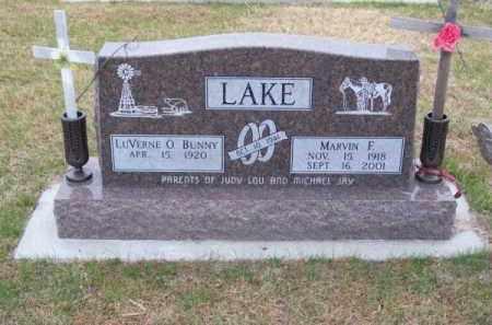 LAKE, MARVIN F. - Brown County, Nebraska | MARVIN F. LAKE - Nebraska Gravestone Photos