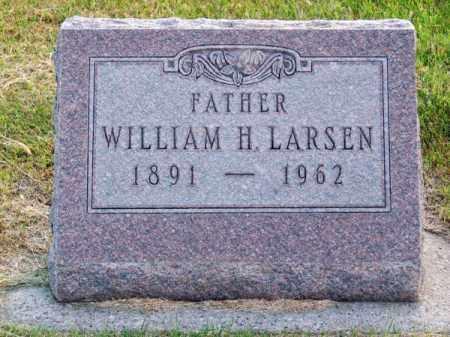 LARSEN, WILLIAM H. - Brown County, Nebraska | WILLIAM H. LARSEN - Nebraska Gravestone Photos