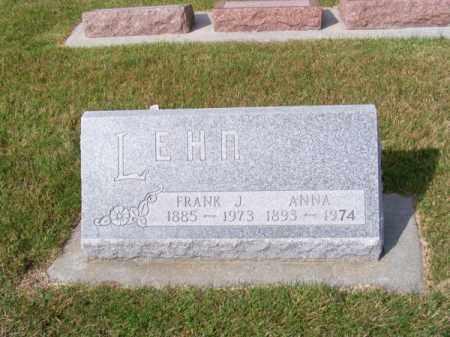 LEHN, FRANK J. - Brown County, Nebraska   FRANK J. LEHN - Nebraska Gravestone Photos