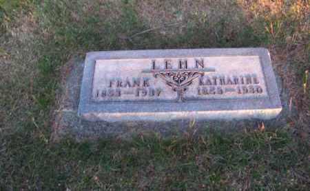 LEHN, KATHARINE - Brown County, Nebraska | KATHARINE LEHN - Nebraska Gravestone Photos