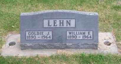LEHN, WILLIAM E. - Brown County, Nebraska | WILLIAM E. LEHN - Nebraska Gravestone Photos