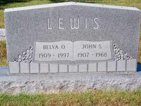 LEWIS, JOHN S. - Brown County, Nebraska | JOHN S. LEWIS - Nebraska Gravestone Photos