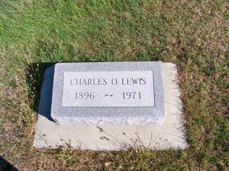 LEWIS, CHARLES O. - Brown County, Nebraska   CHARLES O. LEWIS - Nebraska Gravestone Photos