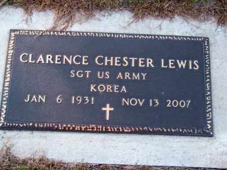 LEWIS, CLARENCE CHESTER - Brown County, Nebraska | CLARENCE CHESTER LEWIS - Nebraska Gravestone Photos