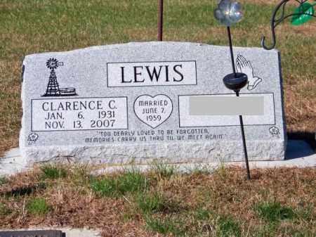 LEWIS, CLARENCE C. - Brown County, Nebraska   CLARENCE C. LEWIS - Nebraska Gravestone Photos