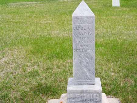 LEWIS, CLYDE G. - Brown County, Nebraska   CLYDE G. LEWIS - Nebraska Gravestone Photos