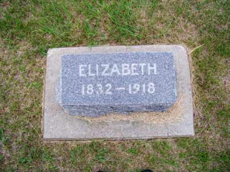 LEWIS, ELIZABETH - Brown County, Nebraska   ELIZABETH LEWIS - Nebraska Gravestone Photos