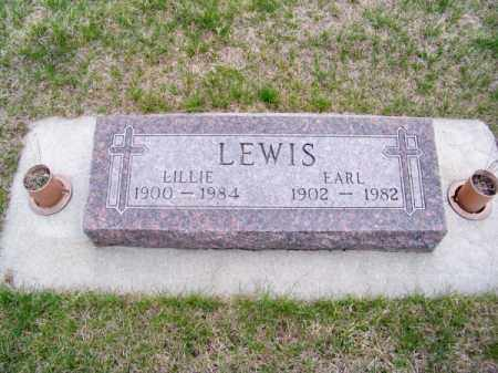 LEWIS, LILLIE - Brown County, Nebraska | LILLIE LEWIS - Nebraska Gravestone Photos