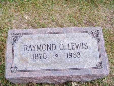 LEWIS, RAYMOND O. - Brown County, Nebraska | RAYMOND O. LEWIS - Nebraska Gravestone Photos