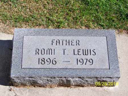 LEWIS, ROMI T. - Brown County, Nebraska   ROMI T. LEWIS - Nebraska Gravestone Photos