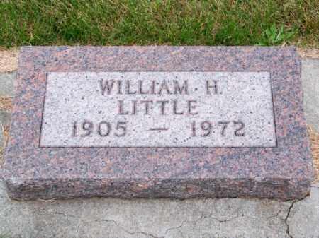 LITTLE, WILLIAM H. - Brown County, Nebraska   WILLIAM H. LITTLE - Nebraska Gravestone Photos