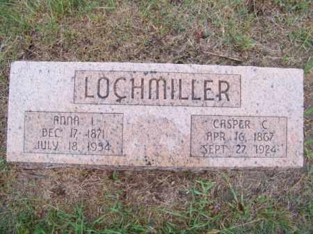 LOCHMILLER, CASPER C. - Brown County, Nebraska | CASPER C. LOCHMILLER - Nebraska Gravestone Photos