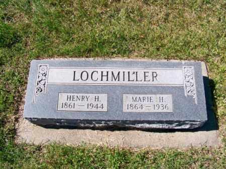 LOCHMILLER, HENRY H. - Brown County, Nebraska   HENRY H. LOCHMILLER - Nebraska Gravestone Photos