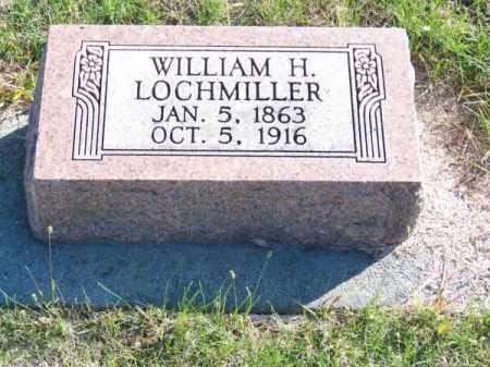 LOCHMILLER, WILLIAM H. - Brown County, Nebraska | WILLIAM H. LOCHMILLER - Nebraska Gravestone Photos