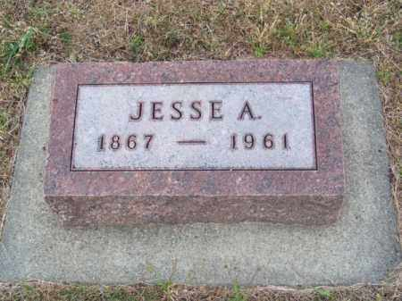 LUTHER, JESSE A. - Brown County, Nebraska | JESSE A. LUTHER - Nebraska Gravestone Photos