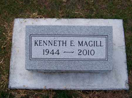 MAGILL, KENNETH E. - Brown County, Nebraska | KENNETH E. MAGILL - Nebraska Gravestone Photos