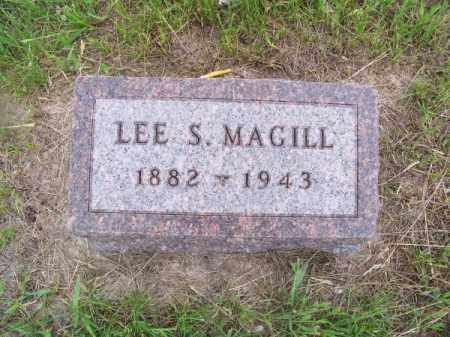 MAGILL, LEE S. - Brown County, Nebraska | LEE S. MAGILL - Nebraska Gravestone Photos