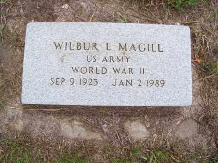 MAGILL, WILBUR L. - Brown County, Nebraska | WILBUR L. MAGILL - Nebraska Gravestone Photos