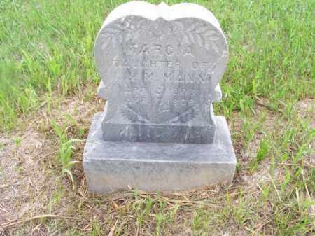 MANN, MARCIA - Brown County, Nebraska   MARCIA MANN - Nebraska Gravestone Photos
