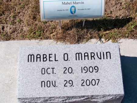 MARVIN, MABEL O. - Brown County, Nebraska | MABEL O. MARVIN - Nebraska Gravestone Photos