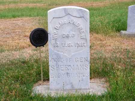 MC ANDREW, WILLIAM D. - Brown County, Nebraska | WILLIAM D. MC ANDREW - Nebraska Gravestone Photos