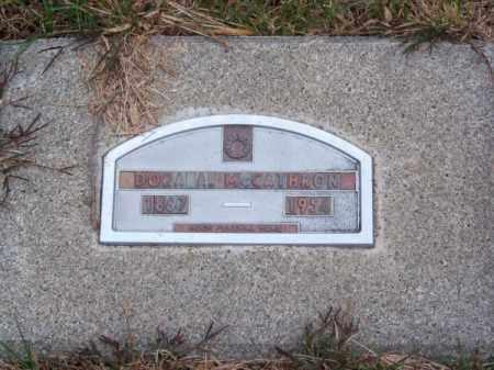 MC CATHRON, DORA A. - Brown County, Nebraska   DORA A. MC CATHRON - Nebraska Gravestone Photos