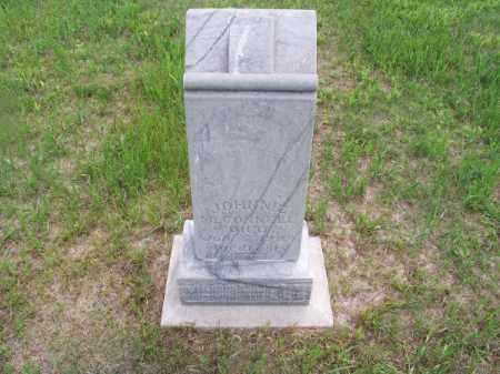 MC CONNELL, JOHNNIE - Brown County, Nebraska   JOHNNIE MC CONNELL - Nebraska Gravestone Photos