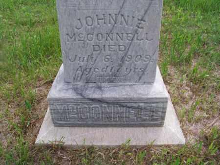 MC CONNELL, JOHNNIE - Brown County, Nebraska | JOHNNIE MC CONNELL - Nebraska Gravestone Photos