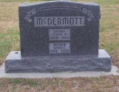 MC DERMOTT, LLOYD A. - Brown County, Nebraska | LLOYD A. MC DERMOTT - Nebraska Gravestone Photos
