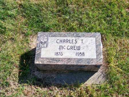 MC GREW, CHARLES T. - Brown County, Nebraska | CHARLES T. MC GREW - Nebraska Gravestone Photos