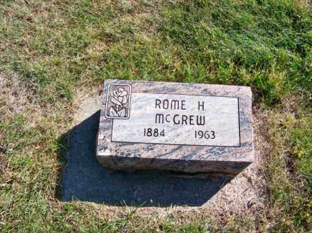MC GREW, ROME H. - Brown County, Nebraska | ROME H. MC GREW - Nebraska Gravestone Photos