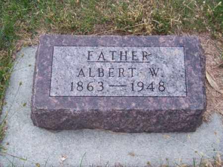 MC MURTRY, ALBERT W. - Brown County, Nebraska | ALBERT W. MC MURTRY - Nebraska Gravestone Photos