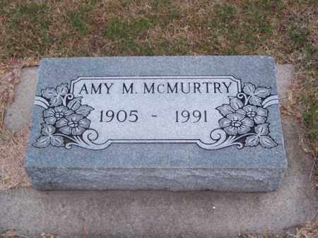 MC MURTRY, AMY M. - Brown County, Nebraska   AMY M. MC MURTRY - Nebraska Gravestone Photos