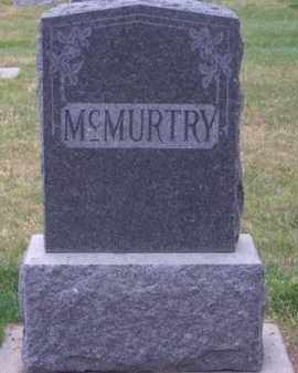 MC MURTRY, FAMILY - Brown County, Nebraska | FAMILY MC MURTRY - Nebraska Gravestone Photos