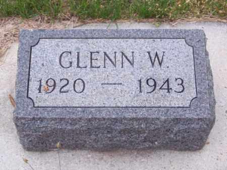 MC MURTRY, GLENN W. - Brown County, Nebraska | GLENN W. MC MURTRY - Nebraska Gravestone Photos