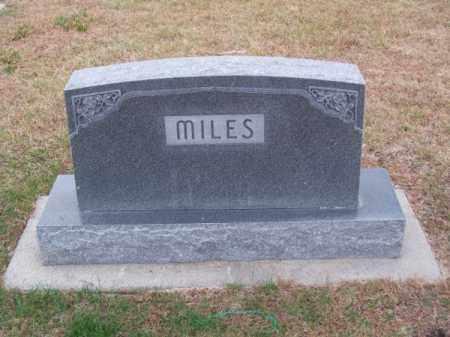 MILES, FAMILY - Brown County, Nebraska | FAMILY MILES - Nebraska Gravestone Photos
