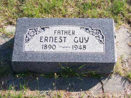 MILLER, ERNEST GUY - Brown County, Nebraska | ERNEST GUY MILLER - Nebraska Gravestone Photos