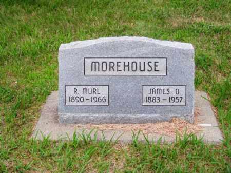 MOREHOUSE, JAMES O. - Brown County, Nebraska | JAMES O. MOREHOUSE - Nebraska Gravestone Photos