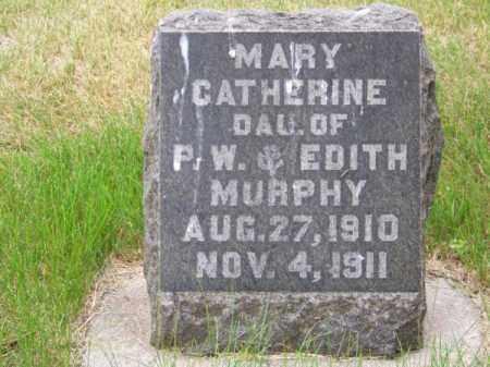 MURPHY, MARY CATHERINE - Brown County, Nebraska | MARY CATHERINE MURPHY - Nebraska Gravestone Photos