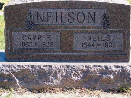 NEILSON, CARRIE - Brown County, Nebraska   CARRIE NEILSON - Nebraska Gravestone Photos