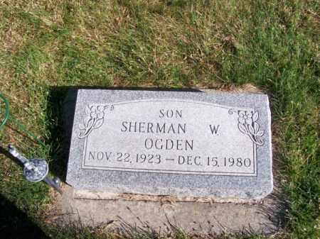 OGDEN, SHERMAN W. - Brown County, Nebraska | SHERMAN W. OGDEN - Nebraska Gravestone Photos