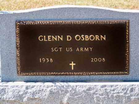 OSBORN, GLENN D. - Brown County, Nebraska | GLENN D. OSBORN - Nebraska Gravestone Photos