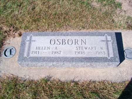 OSBORN, HELEN A. - Brown County, Nebraska | HELEN A. OSBORN - Nebraska Gravestone Photos